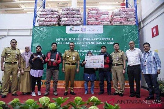 Bank DKI tebar 3.056 Kartu Pekerja ke buruh Jakarta