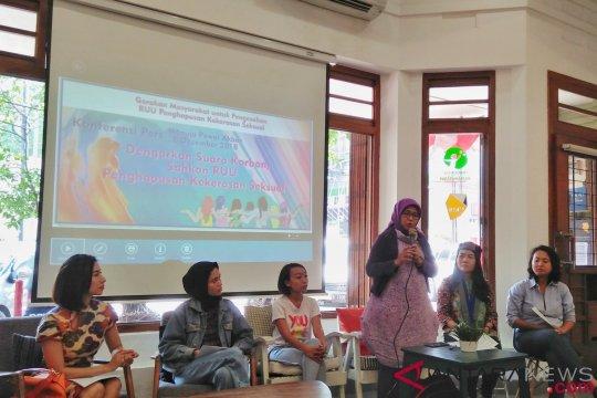 DPR diminta tuntaskan RUU Penghapusan Kekerasan Seksual jelang pemilu