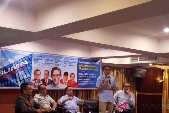Prabowo-Sandi Ingin BUMN untuk rakyat