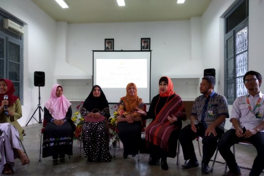 Baznas pamerkan pemberdayaan batik di Eco Fashion Week