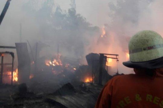Kebakaran perumahan Intercon diduga akibat sambaran petir