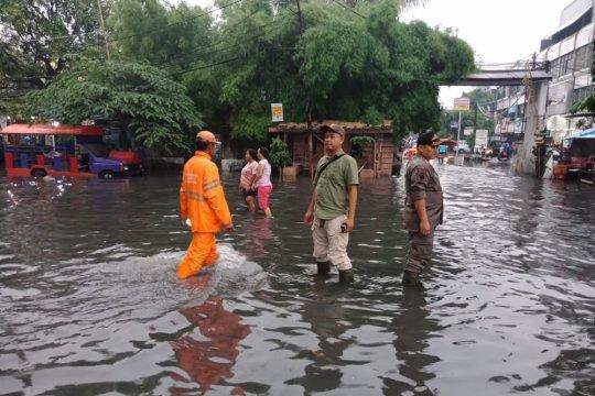 Jakarta Barat bekerja keras kurangi lokasi langganan banjir