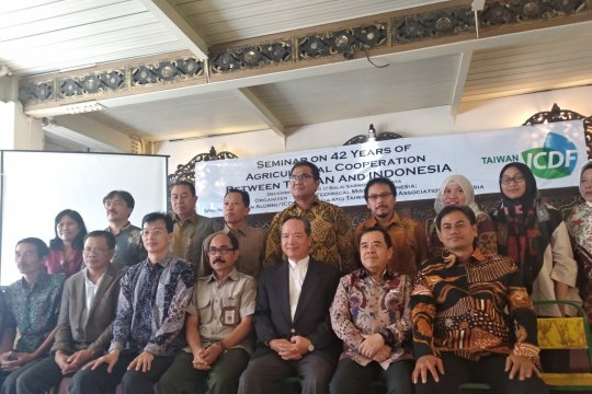 Indonesia-Taiwan kerja sama pemberdayaan petani