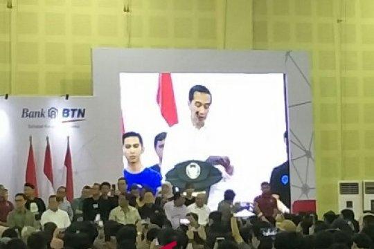 """Presiden Jokowi minta para """"start up"""" tak hanya fokus sisi daring"""