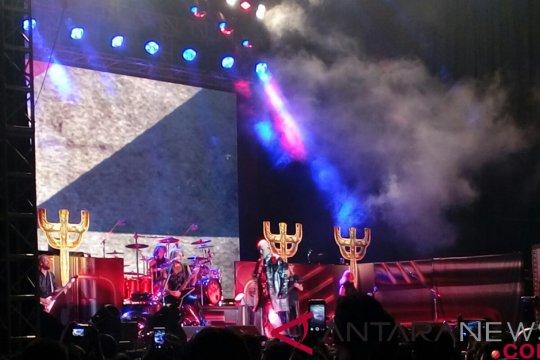 Alasan Jokowi tak hadiri konser Judas Priest