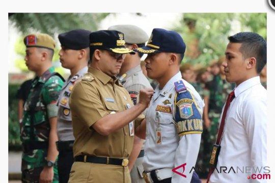 Apel Operasi Praja Wibawa di DKI Jakarta