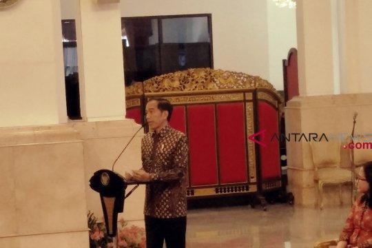Jokowi berupaya terus turunkan angka kemiskinan