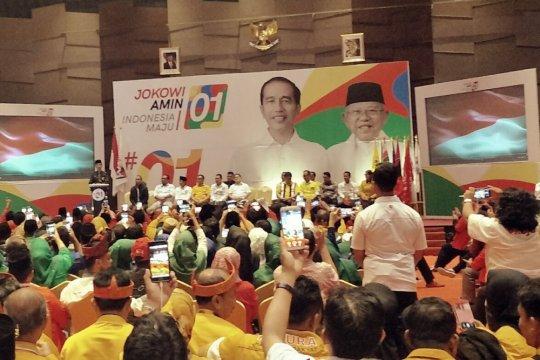 Jokowi hadiri raker Tim Kampanye Daerah Riau