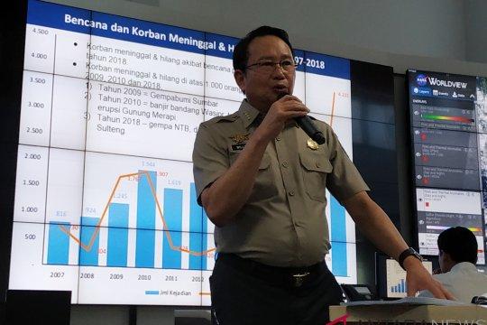 BNPB catat 2.426 kejadian bencana selama 2018