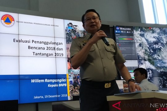 BNPB prediksikan 2.500 kejadian bencana terjadi pada 2019