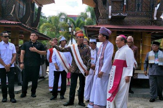 Presiden bertemu para pemuka agama di Tana Toraja
