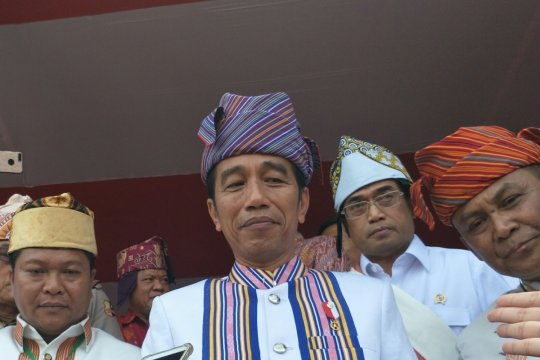 Presiden sebut pembangunan Bandara Tana Toraja selesai 2019