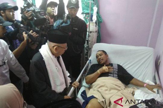 Ma'ruf Amin nilai penanganan korban tsunami Banten sudah bagus