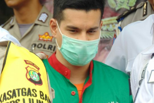 Polisi dalami keterkaitan Steve Emmanuel dengan sindikat narkoba internasional