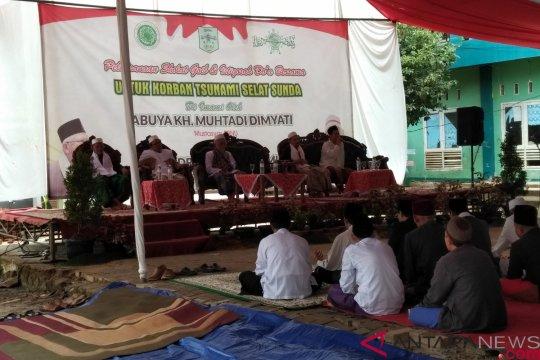 Ma'ruf  Amin tausiyah di Banten