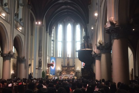 Uskup Agung Katedral Jakarta pimpin doa bagi korban tsunami Selat Sunda