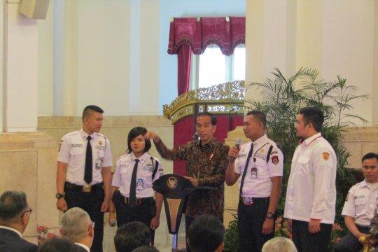 "Satpam ""geruduk"" Istana Kepresidenan Jakarta"
