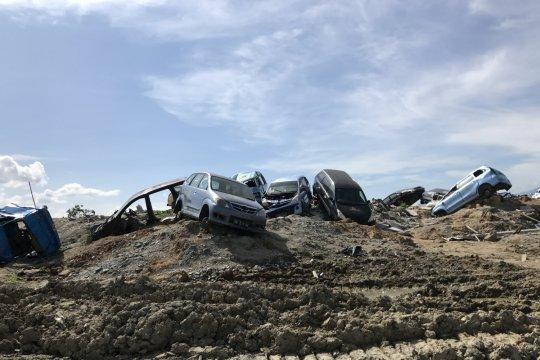 Kementerian ESDM laporkan capaian tim siaga bencana Sulteng