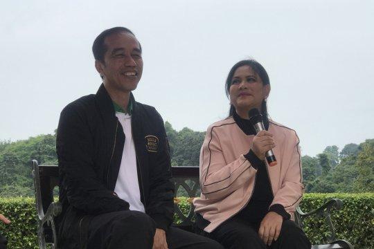 Iriana mengaku tak bisa masak tapi selalu siap dukung Jokowi