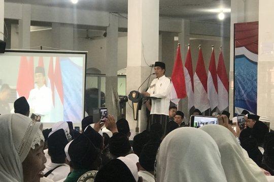 Presiden sudah sambangi 400 kabupaten/kota di Indonesia