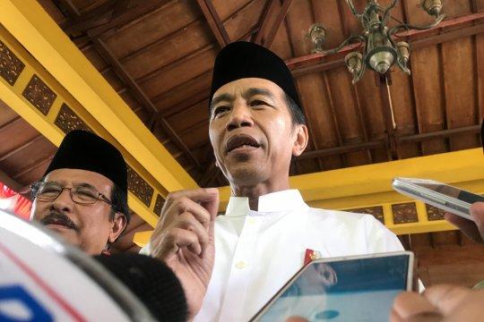 Jokowi sebut dukungan ulama Madura sangat baik