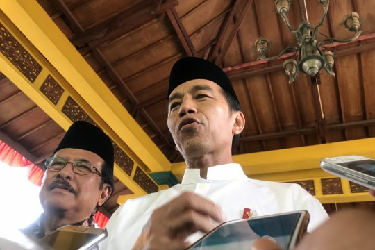 Jokowi bantah pidatonya sindir Bahar bin Smith