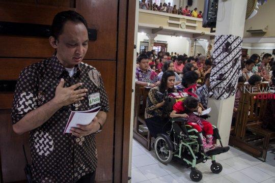 Wali Kota Semarang pantau perayaan Natal