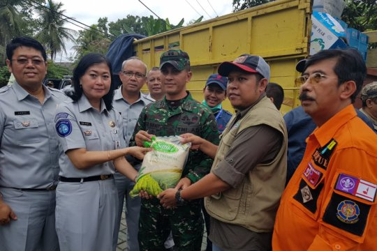 Jasa Raharja salurkan bantuan korban tsunami Selat Sunda