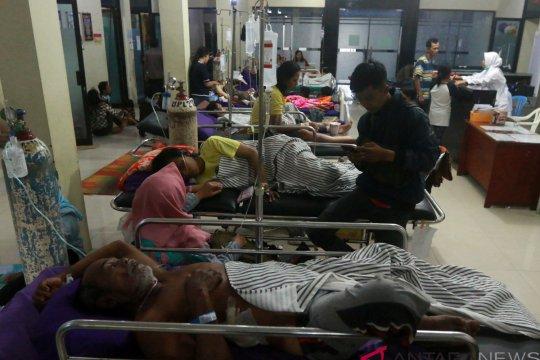 Ratusan korban tsunami di Sukaraja terkena cacar dan ISPA