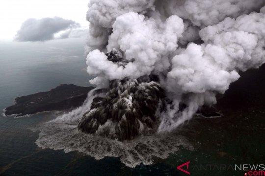 Sumber suara dentuman dari Gunung Anak Krakatau