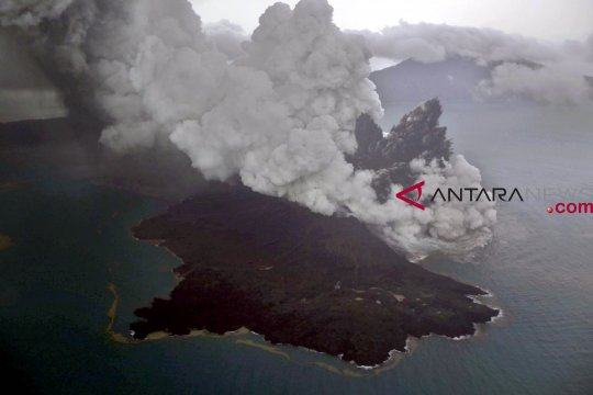 Aktivitas kegempaan Anak Krakatau menurun