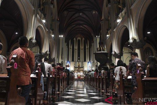 Gereja Katedral Jakarta kembali gelar misa bagi jemaat mulai 12 Juli
