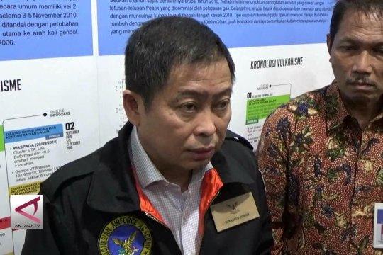 Menteri ESDM kunjungi pos pemantau Gunung Merapi