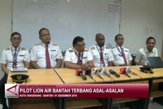Pilot Lion Air bantah terbang asal-asalan