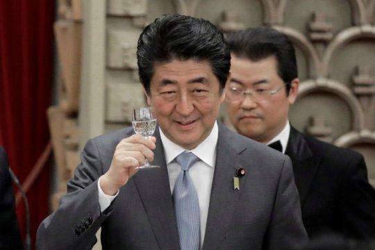 Pertemuan Abe dan Trump kemungkinan pada akhir April