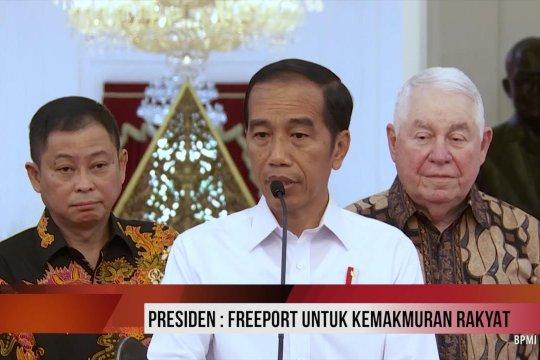 Presiden: Freeport untuk kemakmuran rakyat