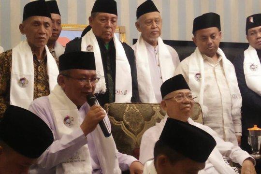 PWNU Jabar sampaikan dukungan kepada capres-cawapres Jokowi-Ma