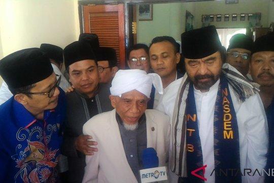 Kiai Ponpes Al Qodiri doakan Surya Paloh