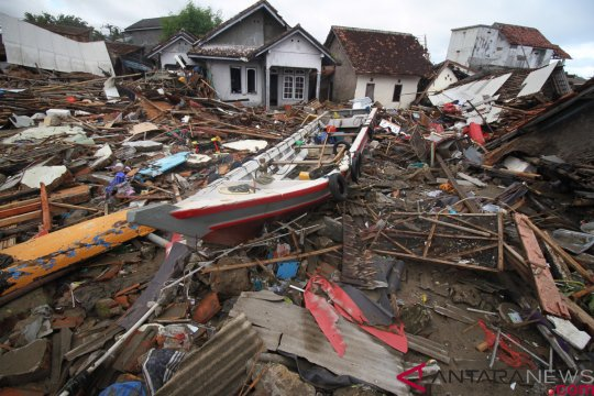 NU berikan bantuan kepada korban tsunami Selat sunda