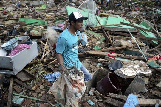 Pemerintah ingin percepat penanganan dampak tsunami Selat Sunda