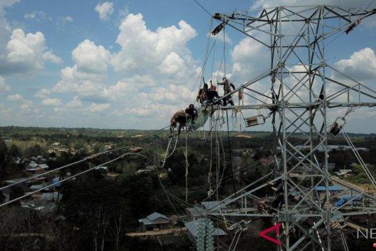 Rasio elektrifikasi nasional capai 98,86 persen
