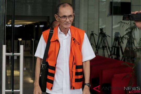 KPK kembali tahan satu tersangka DPRD Sumut