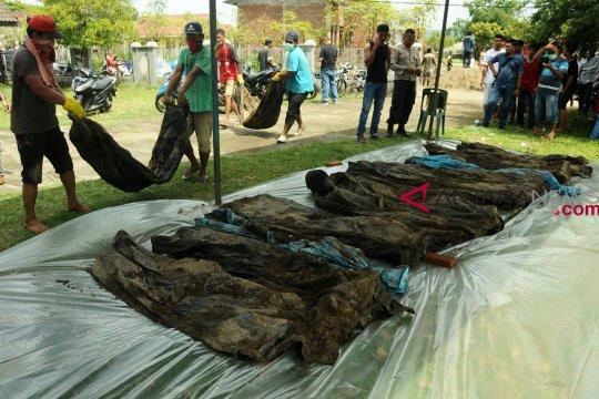 45 kantong jasad korban tsunami Aceh ditemukan setelah 14 tahun