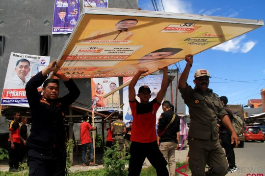 APK caleg semrawut, Golkar kritik Bawaslu Tanjungpinang