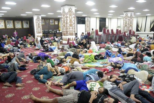 BPBD tidak temukan korban jiwa akibat tsunami di Bandarlampung