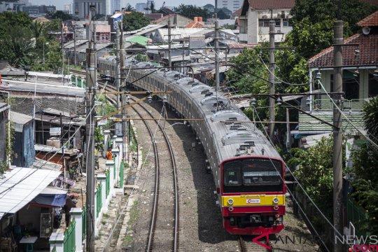 KRL arah Bogor yang terganggu telah dievakuasi