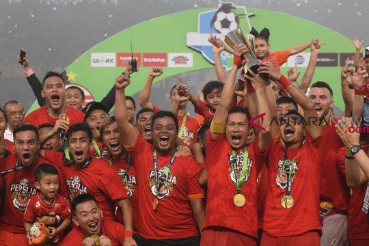 Konsisten jadi kunci keberhasilan Persija juarai Liga 1