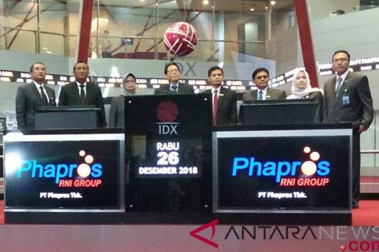Phapros catat saham di BEI
