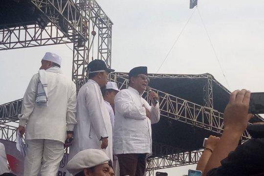 Prabowo berterima kasih diundang ke Reuni 212