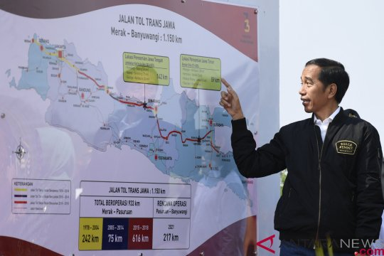 Jokowi tentang integrasi infrastruktur transportasi dorong pertumbuhan ekonomi